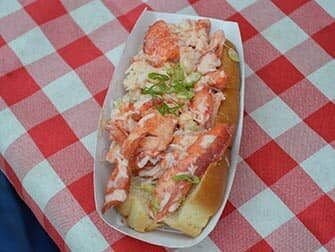 Markeder i New York - Lobster Roll ved Smorgasburg