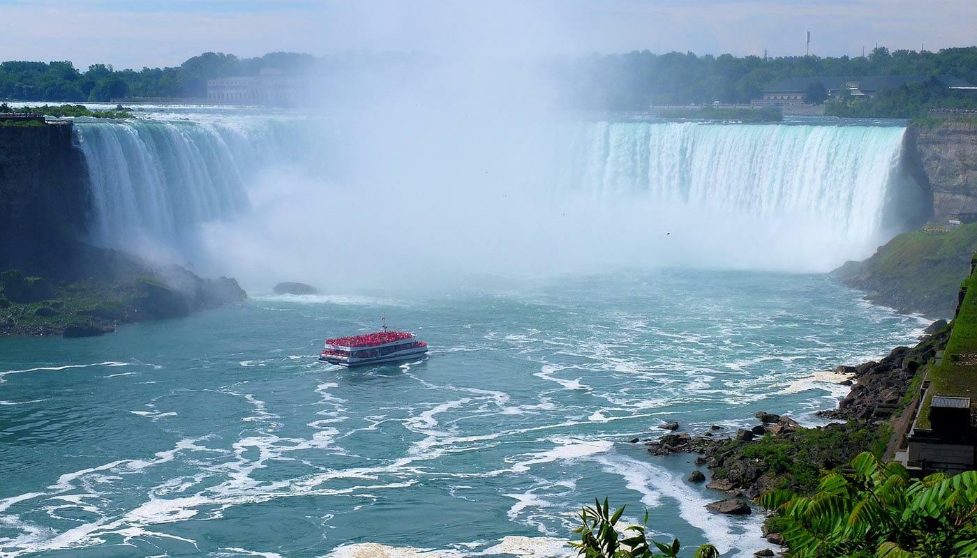 Canada, Niagara Falls og Finger Lakes 3-dagers tur - Båttur