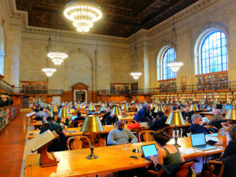 Public Library New York - Lesesal