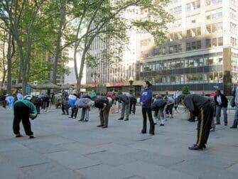 Gratis Tai Chi i New York - Gratis timer