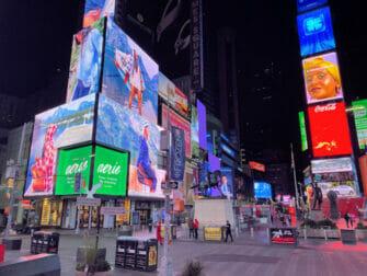 Times Square i New York - Om kvelden