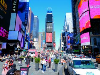 Times Square i New York - På dagtid