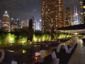 Yotel Hotel i New York - Takterrasse