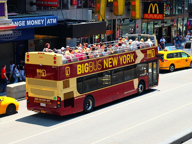 Big Bus i New York - Buss