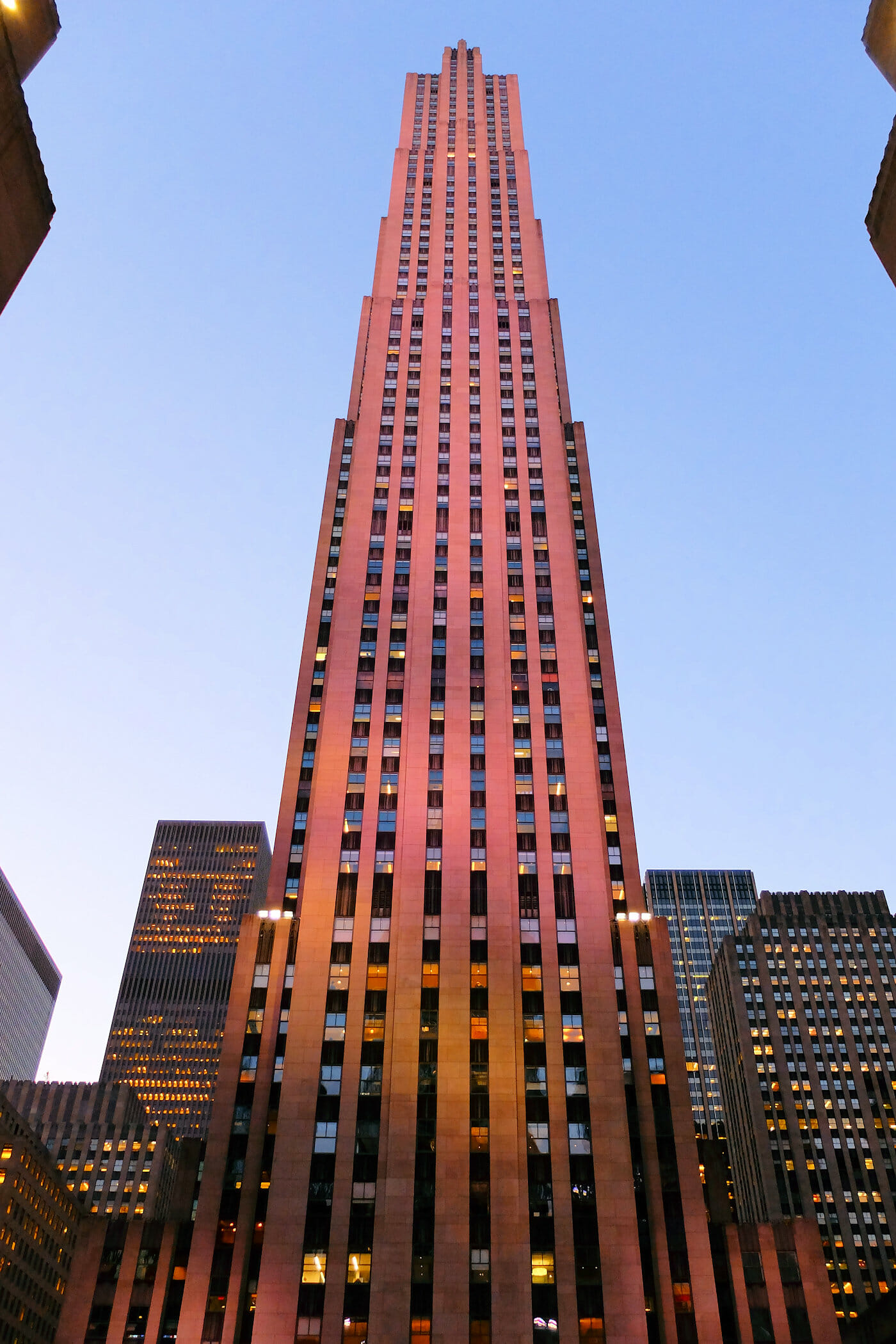 Rockefeller Center i New York - Comcast-bygningen