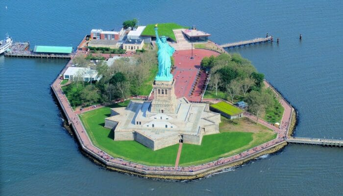 Frihetsgudinnen - Liberty Island