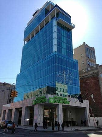 Wyndham Hotel i NYC - Bygningen