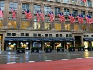 Shopping på Fifth Avenue