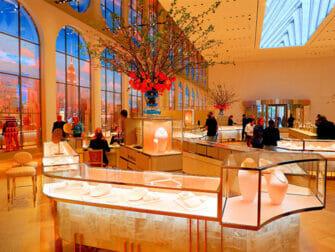 Tiffany & Co. New York - Utstilling