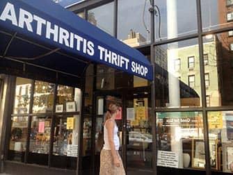 Shopping på Upper East Side i New York - Arthritis Thrift Shop