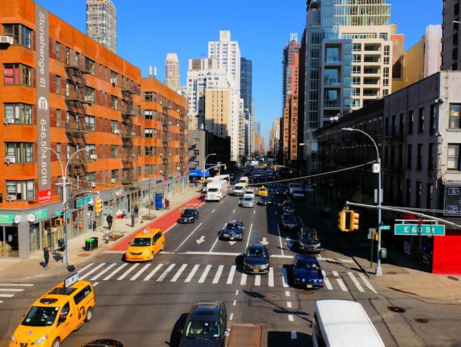 Shopping på Upper East Side i New York - Gate