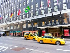 Shopping på Upper East Side i New York
