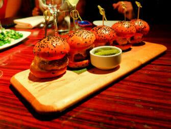 Beste hamburgere i New York - STK Sliders