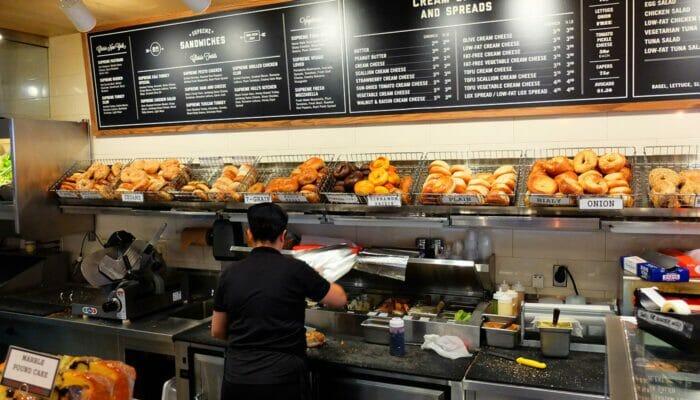 De beste stedene for kaffe og bagels i New York - Pick A Bagel