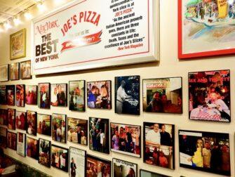 Beste Pizza i New York - Joe's New York