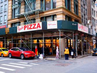 Beste Pizza i New York - Joe's Pizza