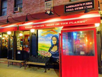 Beste Pizza i New York - Lombardi's Pizza