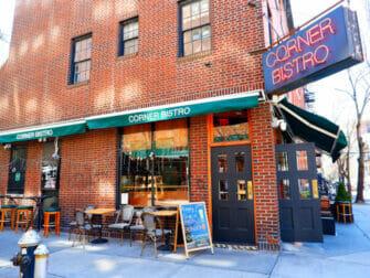 Beste hamburgere i New York   Corner Bistro