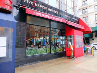 Beste hamburgere i New York - Five Napkin Burger