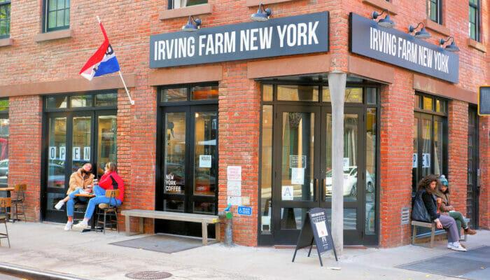 De beste stedene for kaffe og bagels i New York - Irving Farm