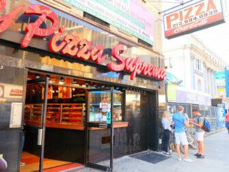 Best pizza i New York - NY Pizza Suprema i New York