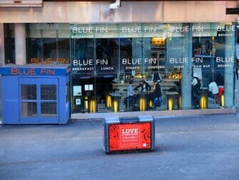 Beste sushi i New York - Blue Fin