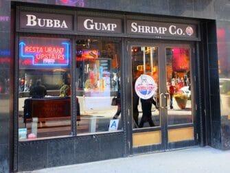 Tema-restauranter i New York - Bubba Gump