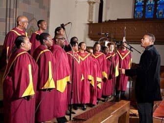 Guidet tur til gospel i New York - Gospel kor