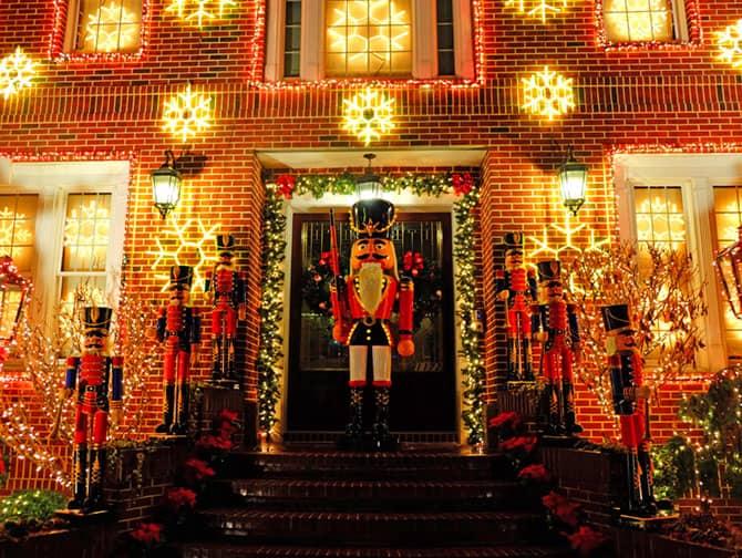 Jul i New York - Dyker Heights Dekorasjoner
