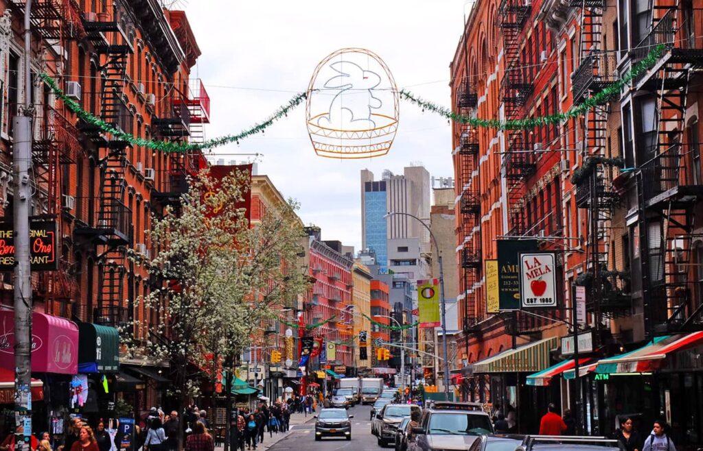 Påske i New York - Little Italy