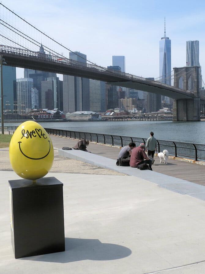 Påsken i New York - Gult egg