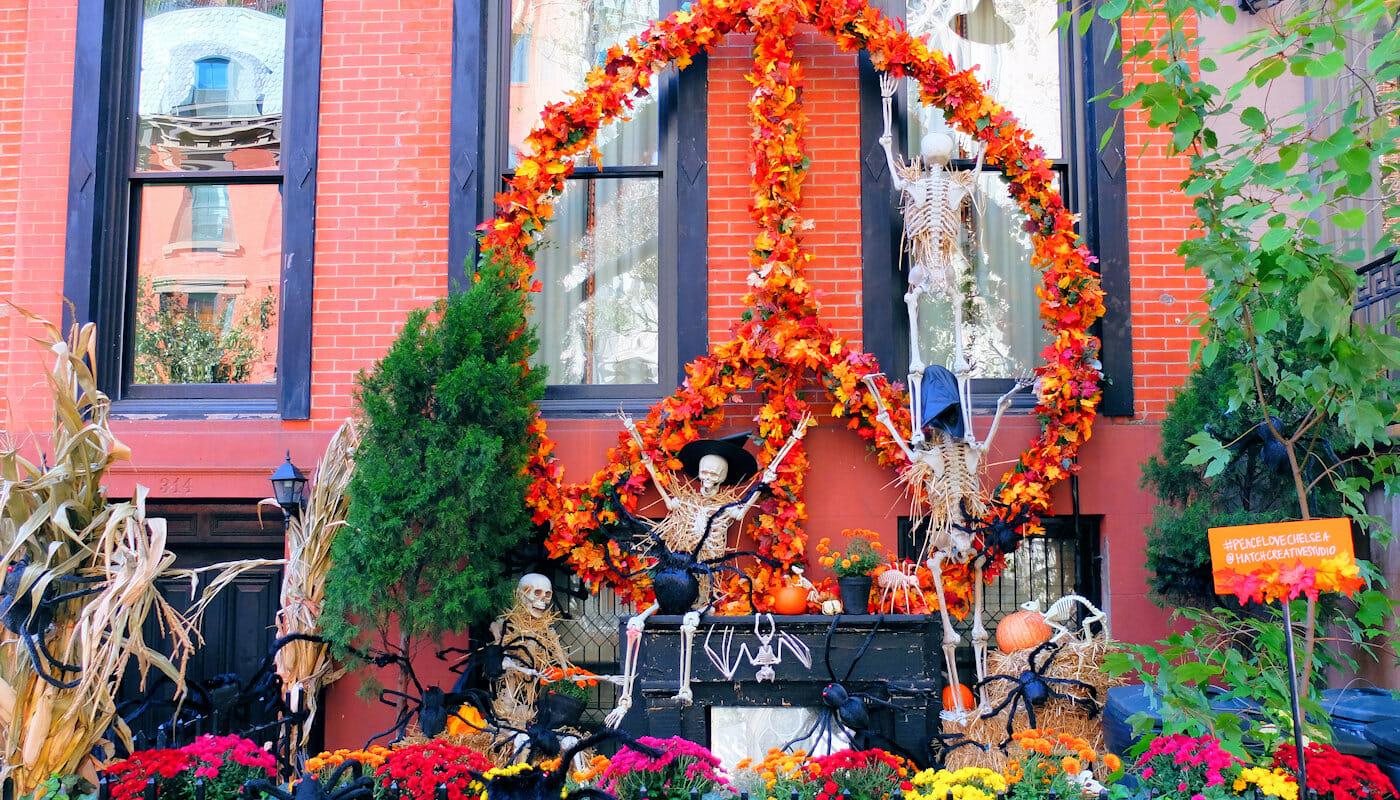 Halloween i NYC - Dekorasjoner