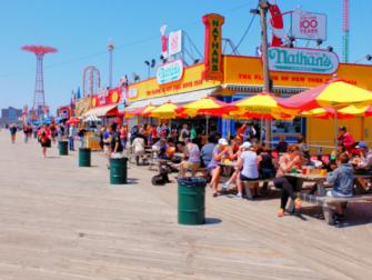 Memorial Day i New York - Promenaden på Coney Island