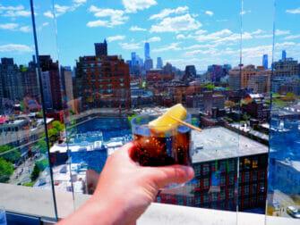 De beste rooftop barene i New York - Utsikt fra Gansevoort Hotel