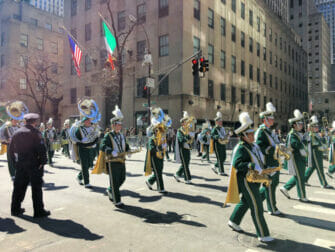 St Patricks Day i New York - Parade