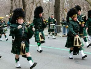 St Patricks Day i New York