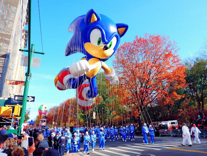 Thanksgiving i New York - Macys Paraden