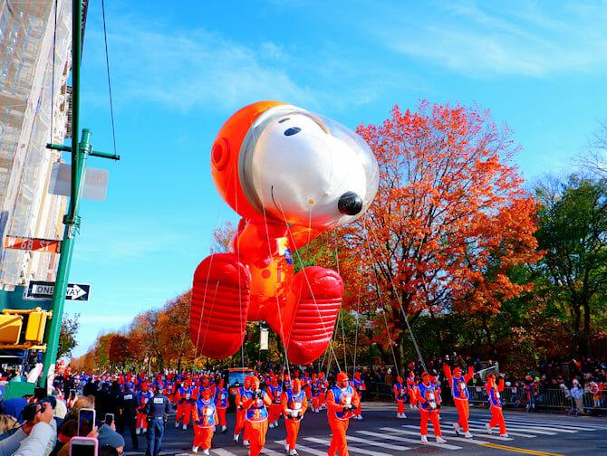Thanksgiving i New York - Snoopy ballong