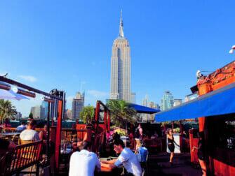 De beste rooftop barene i New York - 230 Fifth på dagtid