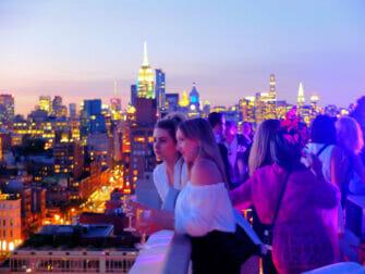 De beste rooftop barene i New York - Solnedgang