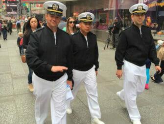Fleet Week i New York - Seilere