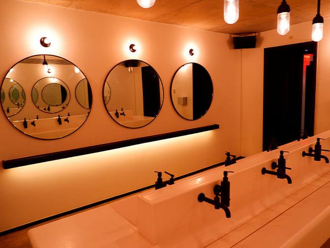 Offentlige toalett i New York