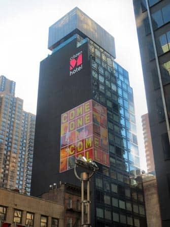 citizenM Hotel i NYC - Bygningen
