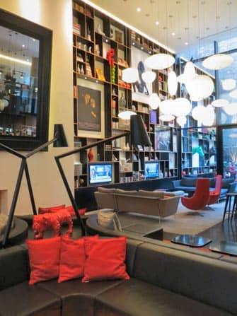 citizenM Hotel i NYC - Lounge