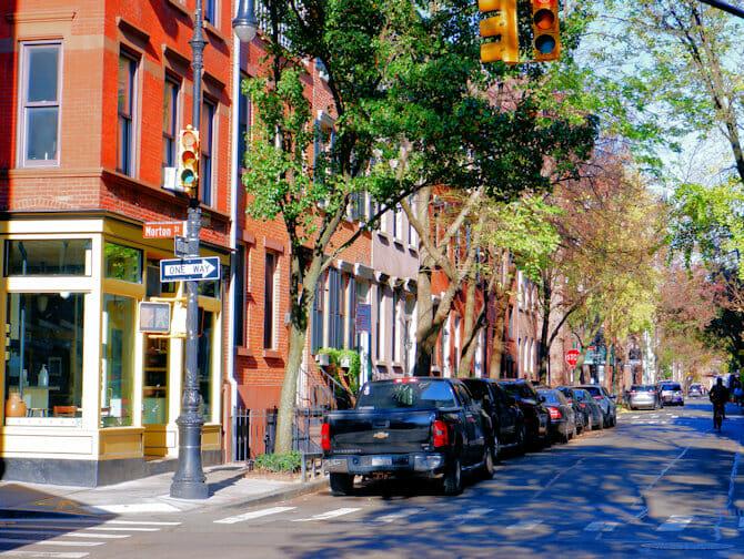 Greenwich Village i New York - Taxi