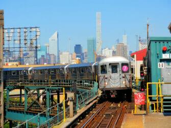 Long Island City i New York - Metro