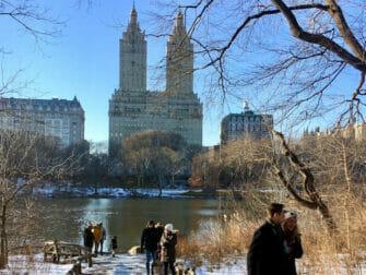 Første nyttårsdag i NYC - Stå på skøyter i Central Park