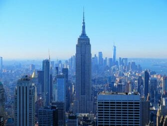 Første nyttårsdag i New York - Utsikt fra Top of the Rock