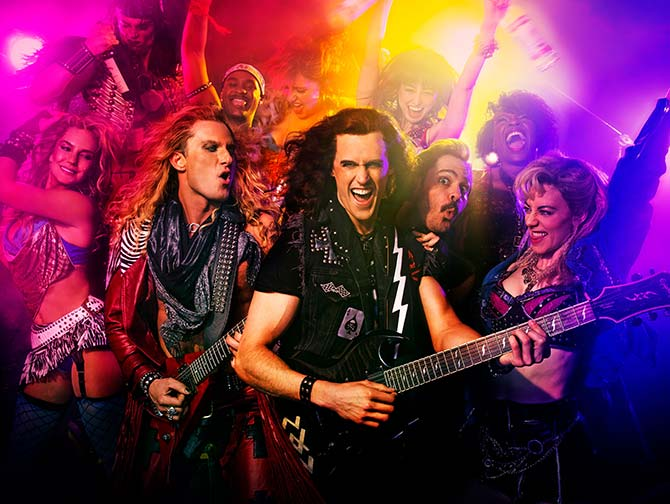 Rock of Ages the Musical i New York Tickets - Rockeband