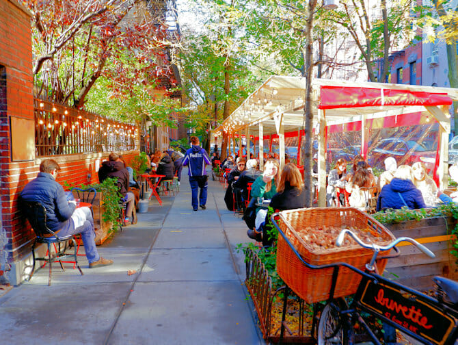 Greenwich Village i New York - Sykkelvei